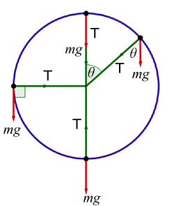 vertical circle diagram